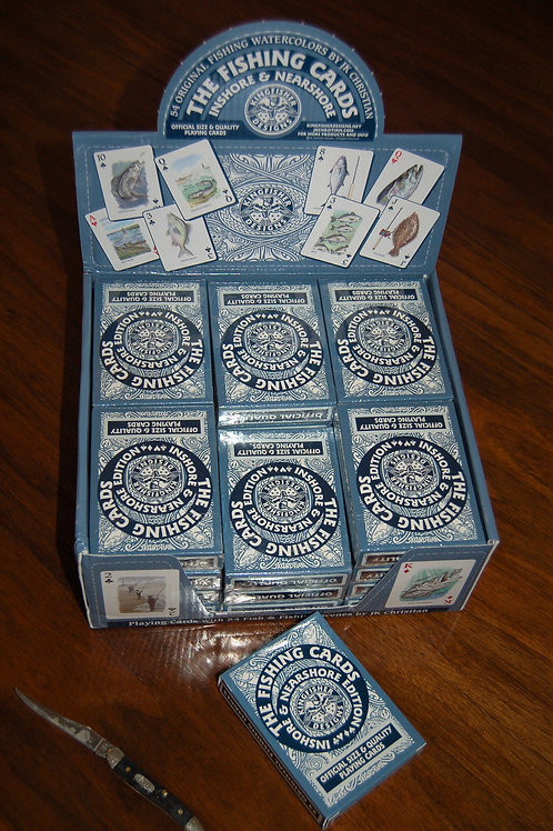24 Decks of Inshore Playing Cards with Retail Display Box