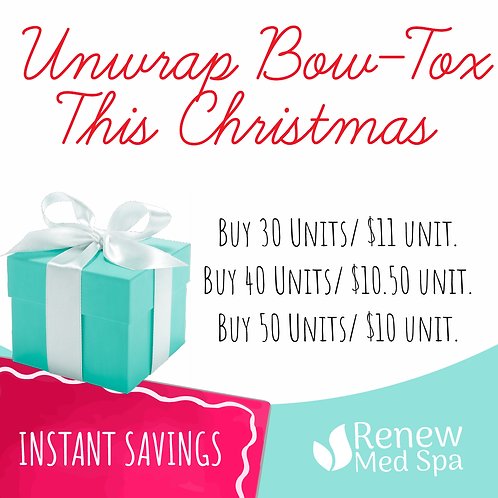 Unwrap Bow-Tox This Christmas
