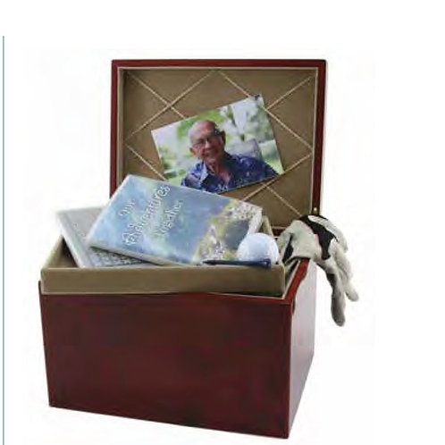Autumn Leaves Memory Chest