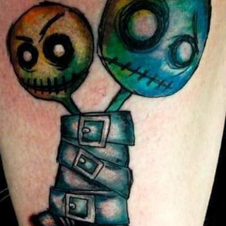 Inner Battle Tattoo