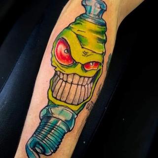 Gear Tattoo