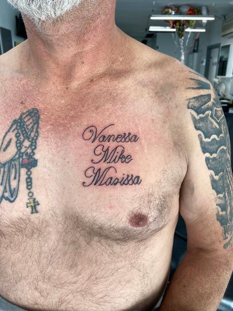 Childrens Name Tattoo