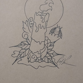 Candle Drawing