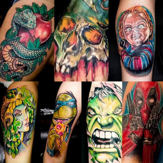 Tattoos by Paul Pare