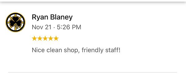 Nice Clean Shop, Friendly Staff