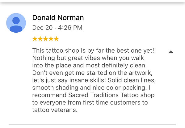 This tattoo shop is by far the best one yet!!