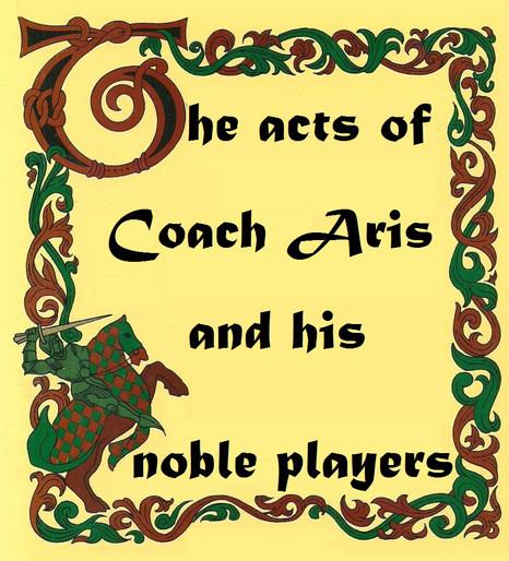 [Εφηβικό]: The act of Coach Aris and his Noble Players