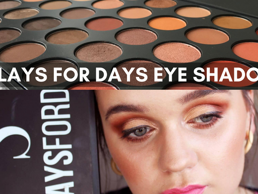 Review: Swiitch Beauty- Slays For Days Eyeshadow Palette