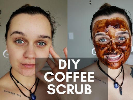 DIY Coffee Face Mask (My Face Was So Smooth!)