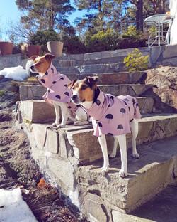 Rin Coat Soft Pink & Umbrellas