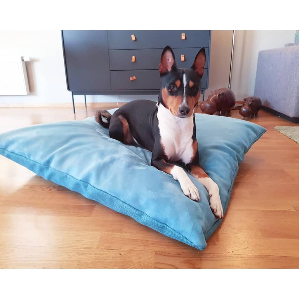 Big Pillow Bed Turquoise Louie