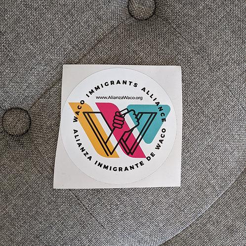 W.I.A Logo Sticker