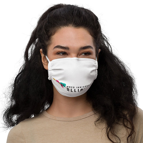 W.I.A. Text Logo - Face mask