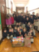 Saint Francis Xavier School Character Food Drive