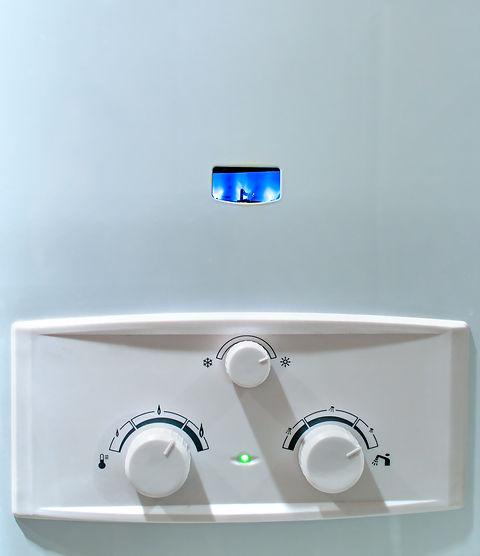 Gas burns in modern water heater.jpg