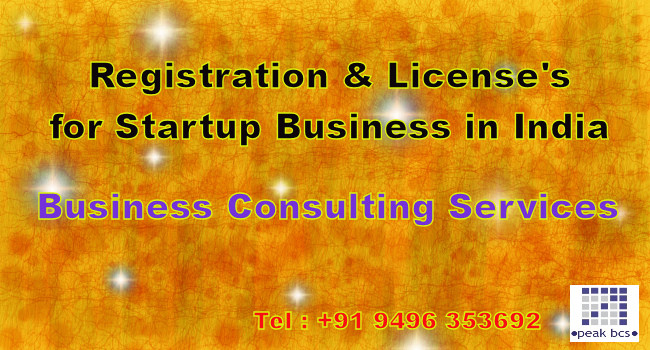 Guide entrepreneurs to start up services, license's and registrations in India. Get more know about startup registration, how to start a business and related affairs.