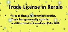 Trade License Registration Service Page