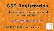 GST Registration Service Page, Get assistance to register and file return in Kerala.
