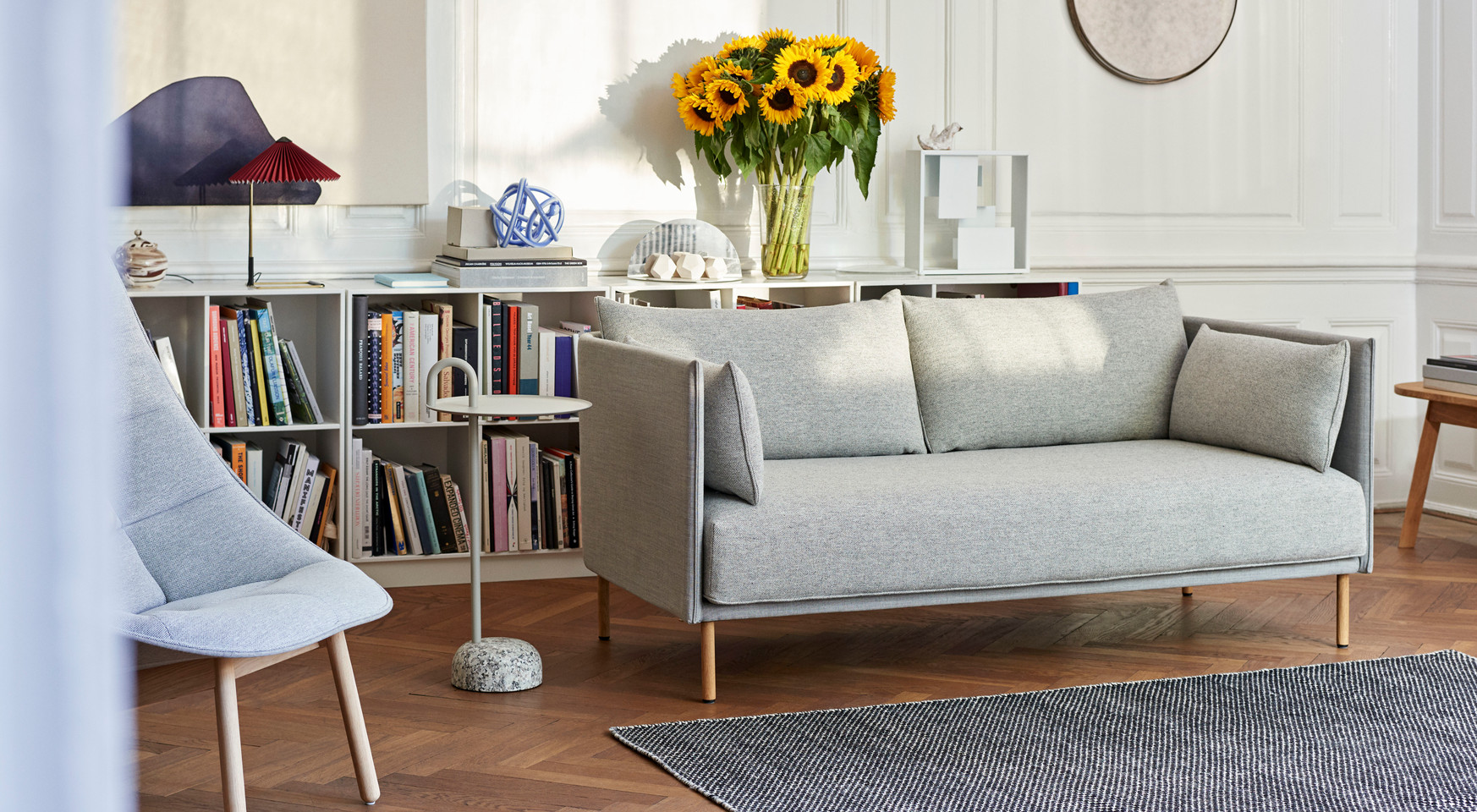 Silhouette Sofa Duo 2 seater back Remix