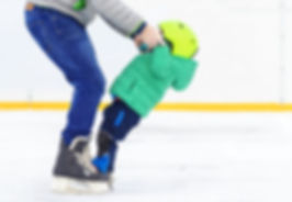 Difficulties of the first steps on skate