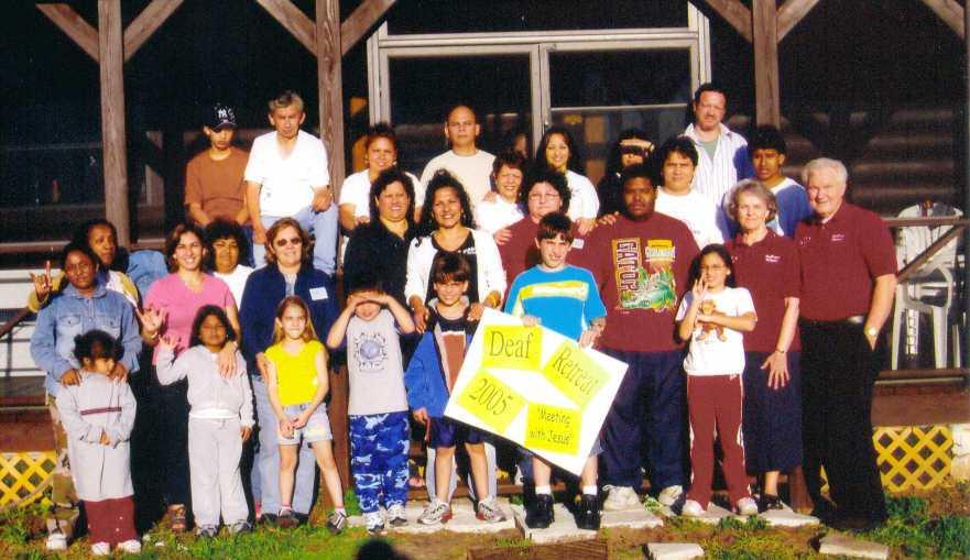 1ST. DEAF RETREAT 2005 GROUP