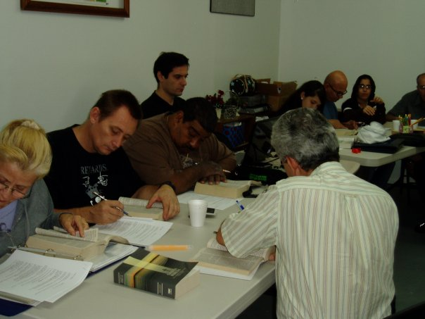 BIBLE CLASS FOR THE DEAF PEOPLE