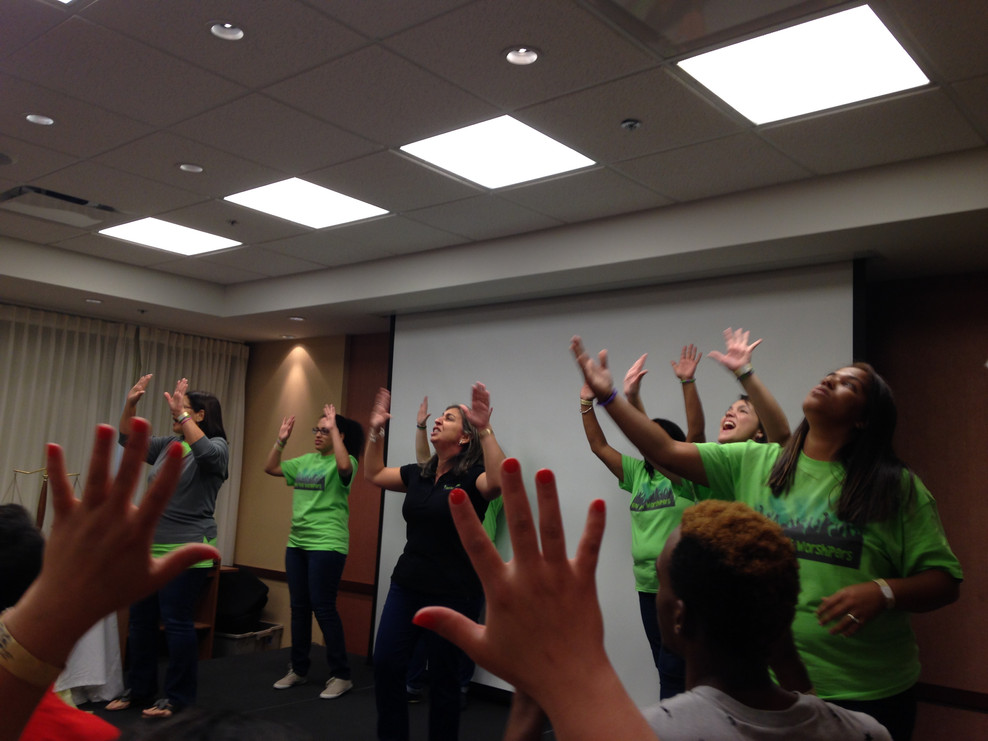 Praising in Sign Language