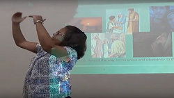 BETTY PREACHING IN SIGN LANGUAGE