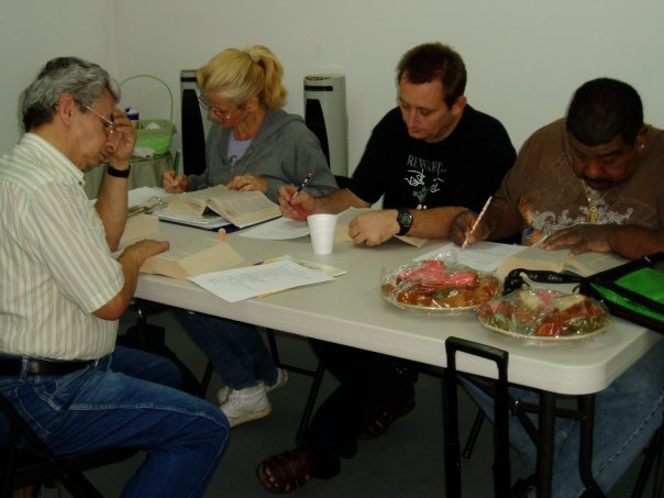 BIBLE CLASS FOR THE DEAF