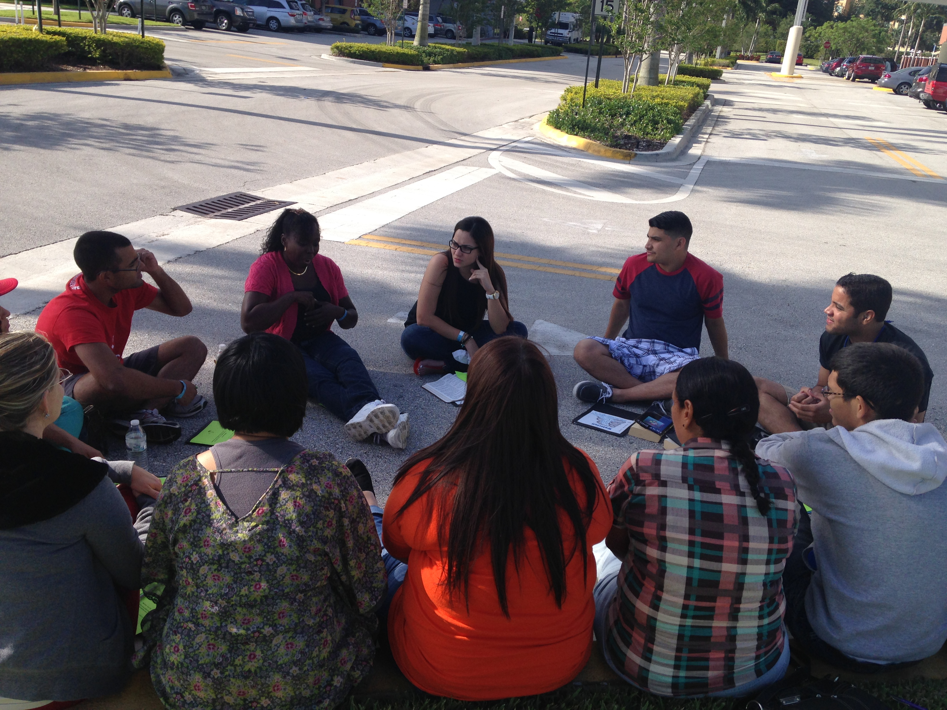 BIBLE STUDY GROUP AND PRAY TIME