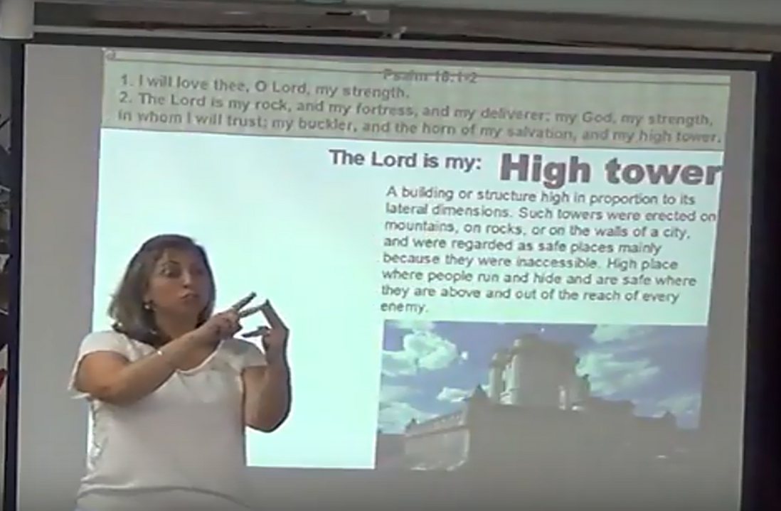 Sharing the Word of God in Sign Language