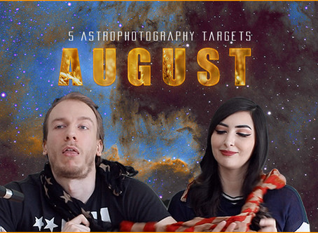 5 August Astrophotography Targets you can image this month!