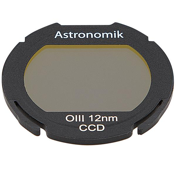 Astronomik Oxygen III Narrowband filter for backyard Astrophotography from the city, works with DSLR cameras and telescopes