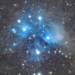 M45 - The Pleiades Star Cluster