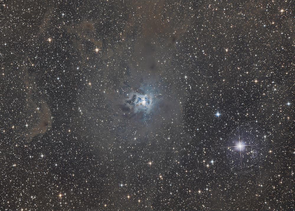 """The Iris Nebula Astrophotography - QHY128C and Orion 8"""" Astrograph"""