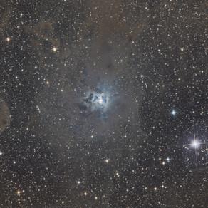 NGC 7023 - The Iris Nebula from a Bortle 2 zone