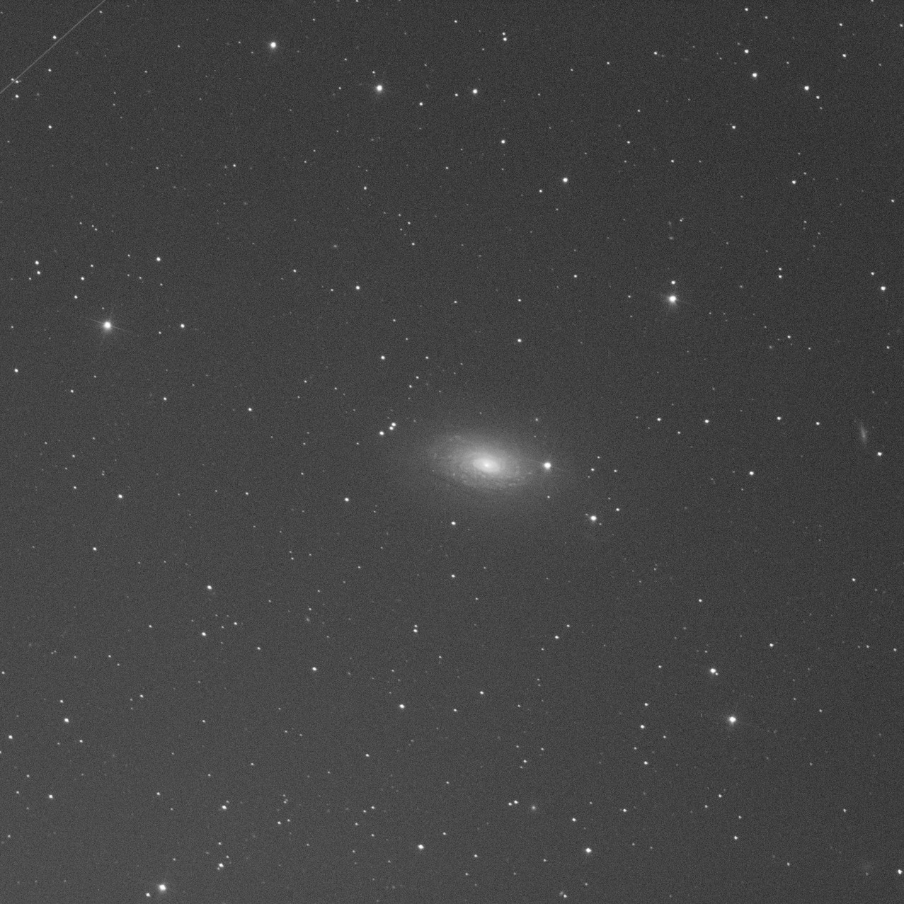 M63, Red channel