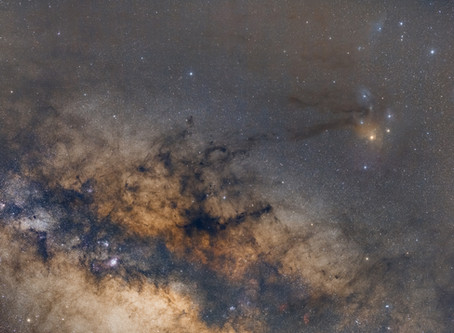 Rho Ophiuchi - Widefield Photography of our closest Stellar Nursery