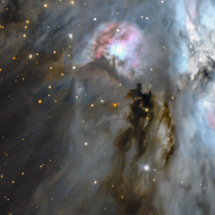 M43, à gauche de M42.