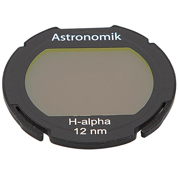 Astronomik Hydrogen Alpha Narrowband filter for backyard Astrophotography from the city, works with DSLR cameras and telescopes