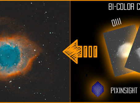 PixInsight: Bi-Color Combination - Tutorial