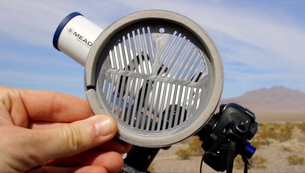 Bahtinov Mask for small telescopes