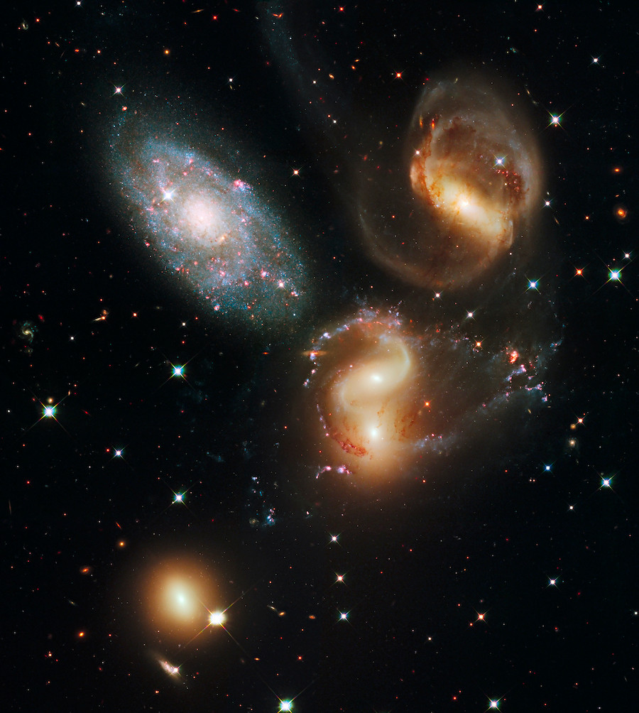 Stephan's Quintet by NASA