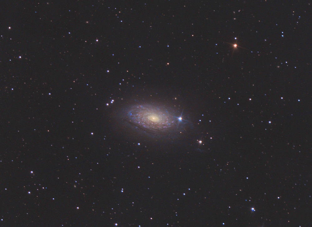 Messier 63 the sunflower galaxy Astrophotography