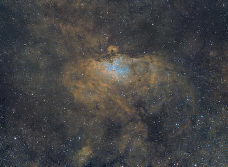 M16 - The Eagle Nebula & The Pillars of Creation