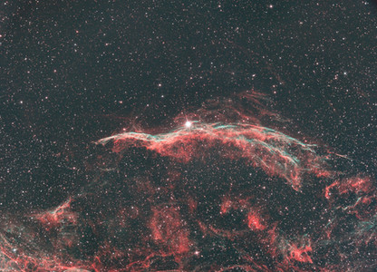 The Veil Nebula with the TRIAD Ultra filter
