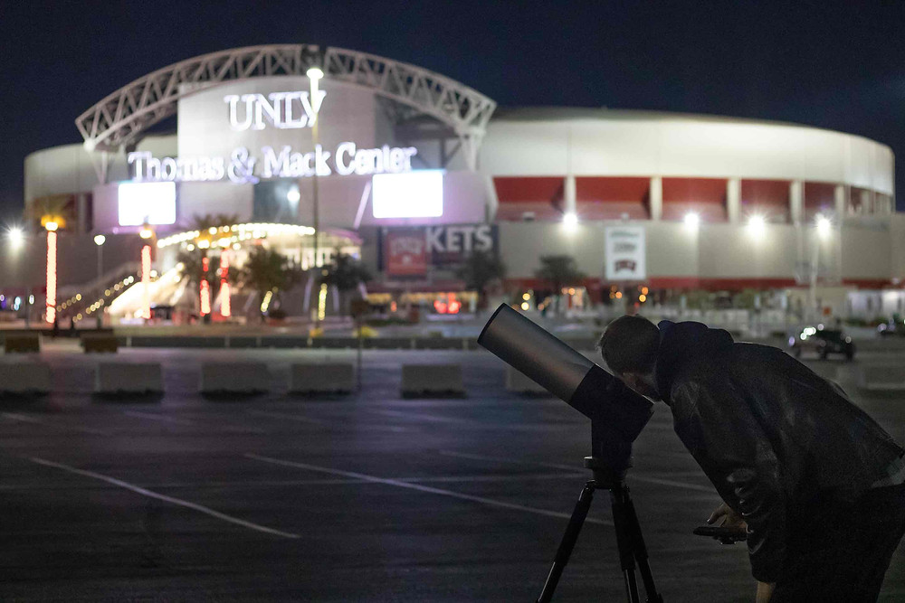 Looking through the EVscope at UNLV Las Vegas