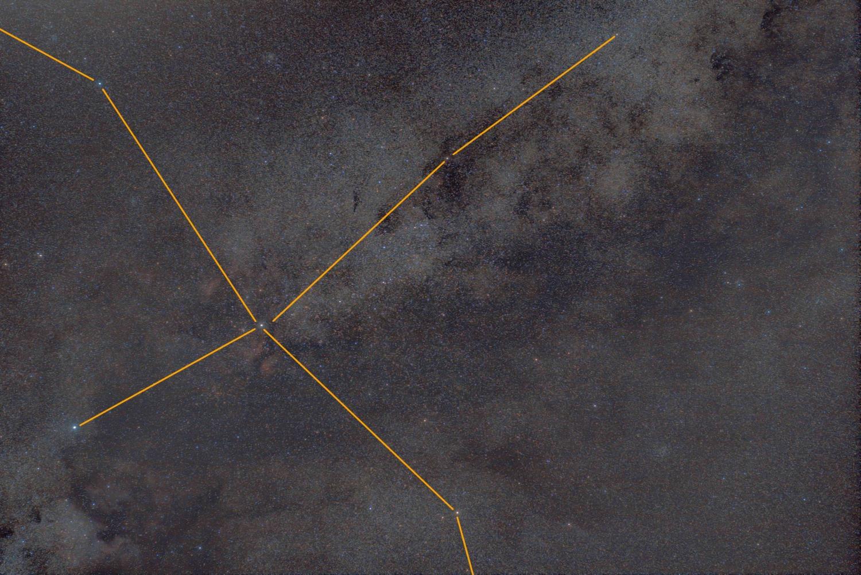 Cygnus wide field DSLR Astrophotography
