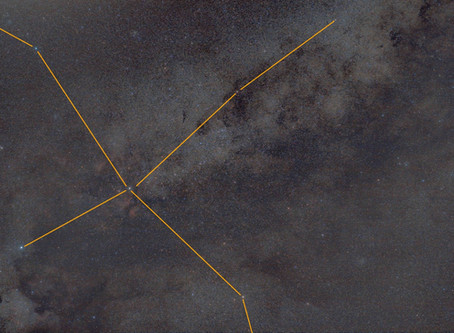 Cygnus - Wide field Astrophotography of the Northern Cross Constellation