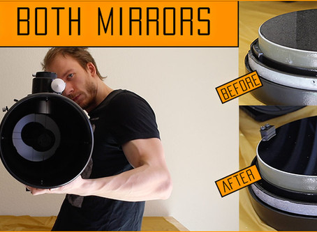 How to clean your telescope's mirrors